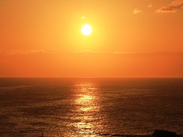 海の別邸ふる川から見える今日の朝日~平成28年5月08日